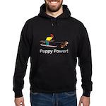 Puppy Power Hoodie (dark)