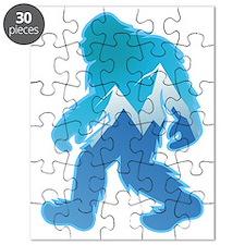 Yeti Mountain Scene Puzzle