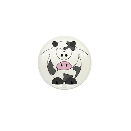 Happy Cow Mini Button