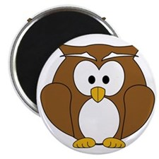 Happy Wise Owl Magnet