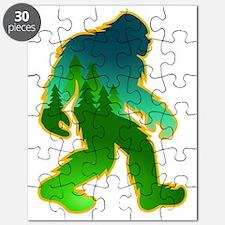 Sasquatch Forest Scene Puzzle