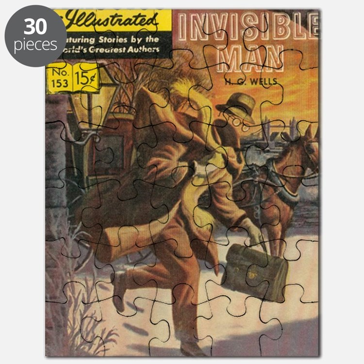 Classics Illustrated The Invisible Man Puzzle