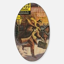 Classics Illustrated The Invisible  Decal