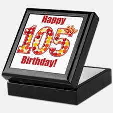 Happy 105th Birthday! Keepsake Box
