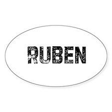 Ruben Oval Decal
