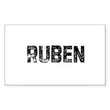 Ruben Rectangle Decal