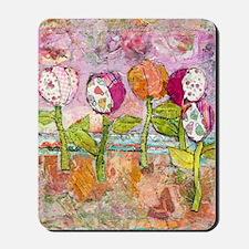 Joyful Tulips Mousepad