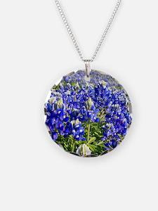 Fields of Bluebonnets Necklace