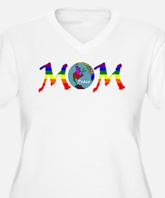 PEACE ONE EARTH MOM (RB) T-Shirt