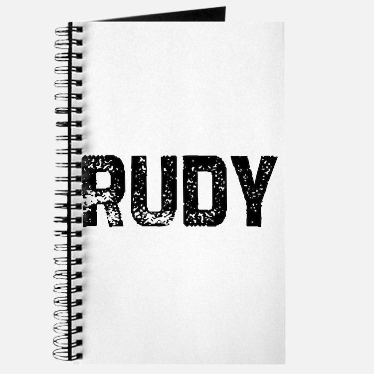 Rudy Journal