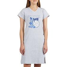 Volleyball Boy Women's Nightshirt