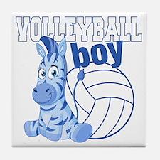 Volleyball Boy Tile Coaster