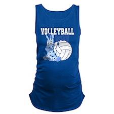 Volleyball Boy Maternity Tank Top