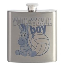 Volleyball Boy Flask