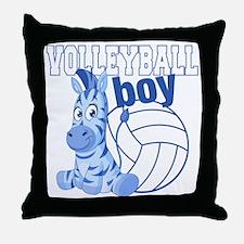 Volleyball Boy Throw Pillow