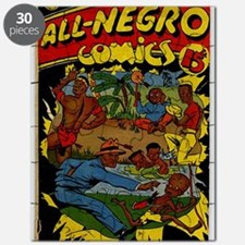 All-Negro Comics No 1 Puzzle