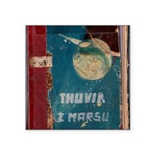 """Thuvia Cover 1928 Square Sticker 3"""" x 3"""""""