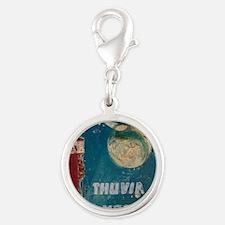 Thuvia Cover 1928 Silver Round Charm