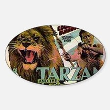 Tarzan and the Golden Lion Sticker (Oval)
