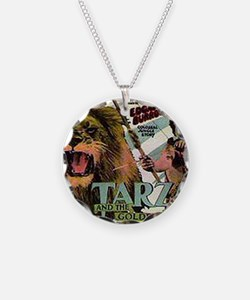 Tarzan and the Golden Lion Necklace