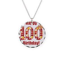 Happy 100th Birthday! Necklace