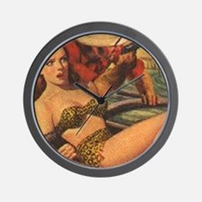 Jungle Stories 1951 Wall Clock