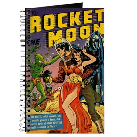 Rocket to the Moon Journal