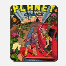 Planet Comics No 1 Mousepad