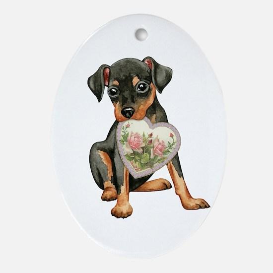 minpin momK Oval Ornament