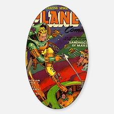 Planet Comics No 71 Sticker (Oval)