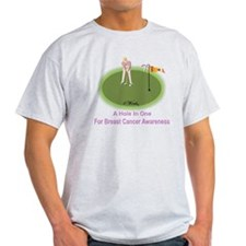 4 Words - A Hole In One - For Breast T-Shirt