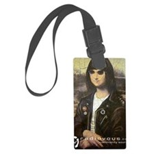 Ramona Lisa Luggage Tag