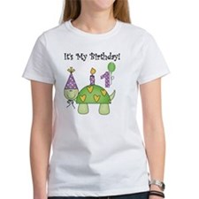 Turtle 1st Birthday Tee