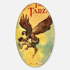 Jungle Tales of Tarzan Sticker (Oval)