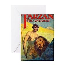 Tarzan the Untamed Greeting Card