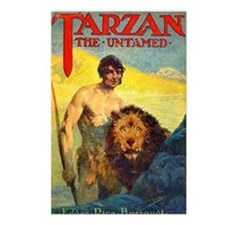 Tarzan the Untamed Postcards (Package of 8)