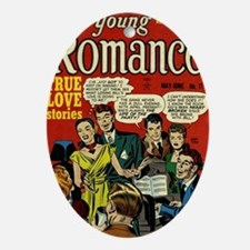 Young Romance No 11 Oval Ornament