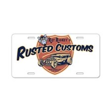 rat-rod-103-CAP Aluminum License Plate