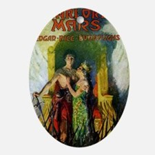 Warlord of Mars 1919 Oval Ornament