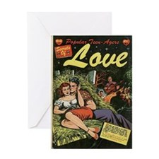 Popular Teen-Agers Secrets of Love Greeting Card