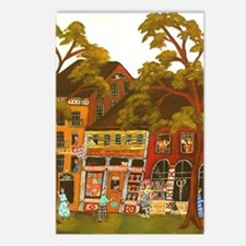 Needlework District Postcards (Package of 8)