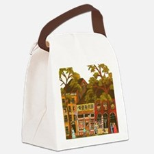Needlework District Canvas Lunch Bag