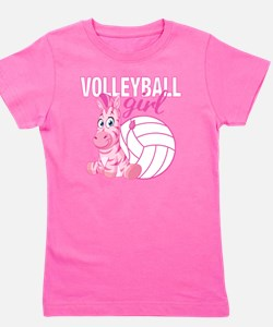 Volleyball Girl Girl's Tee