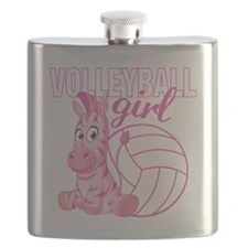 Volleyball Girl Flask
