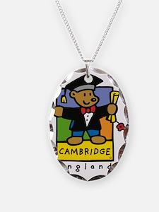 Cambridge academic bear design Necklace