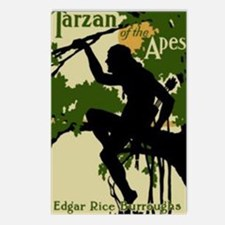 Tarzan of the Apes 1914 Postcards (Package of 8)
