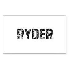 Ryder Rectangle Decal