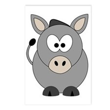 Happy Donkey Postcards (Package of 8)