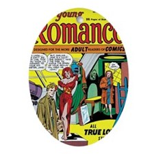 Young Romance No 1 Oval Ornament