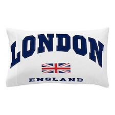 London England Union Jack Pillow Case